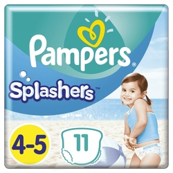 Pleny do vody Splashers 9-15kg 11ks PAMPERS