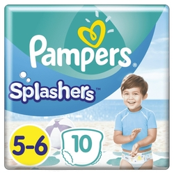 Pleny do vody Splashers 14+kg 10ks PAMPERS