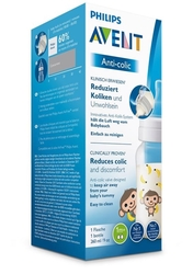 Láhev Anti-colic 260 ml, 1 ks opice