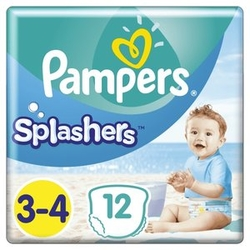 Pleny do vody Splashers 6-11kg 12ks PAMPERS