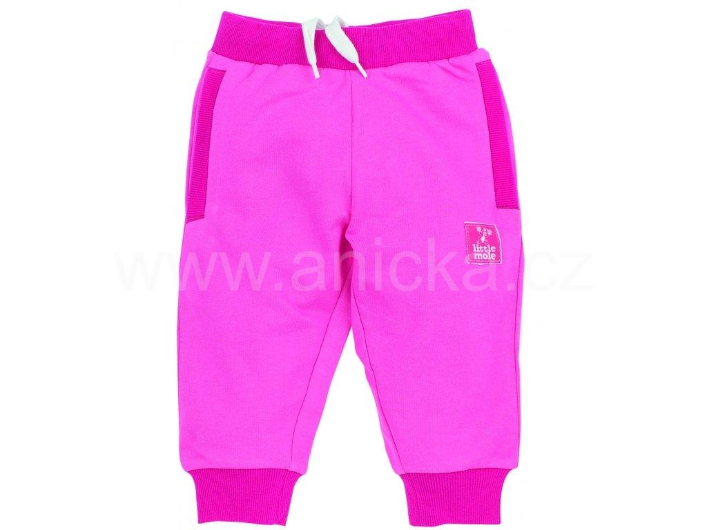 aaeababbde5 G-mini tepláky bavlna dívčí růžové vel.98