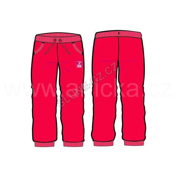 G-mini tepláky bavlna dívčí růžové vel. 80 25c4b57944