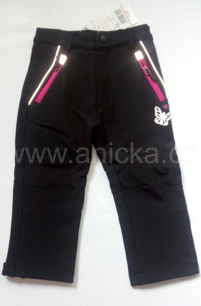 Kugo softshellové kalhoty černé bb99be0560